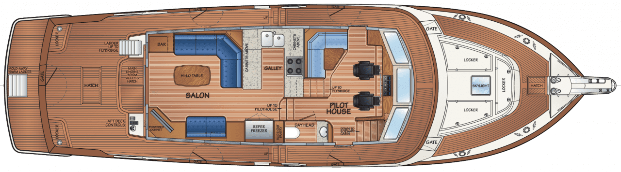 Main deck - option B