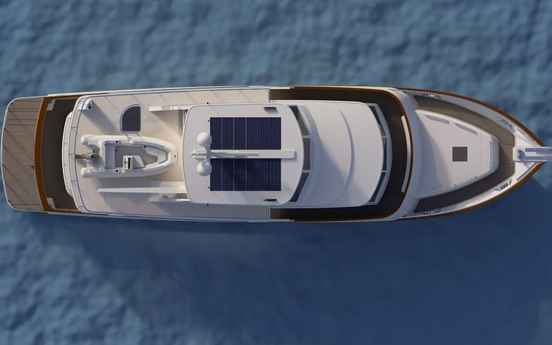 Overhead view of an artists's impression of the new Fleming 85